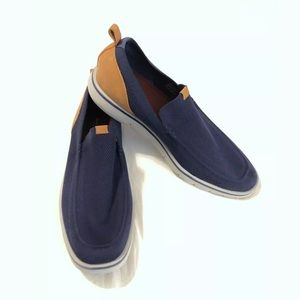 Mark Nason Articulated Essex slip on Navy shoe